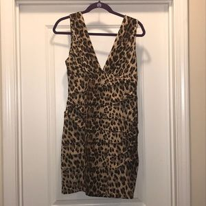 Dresses & Skirts - Forever 21 Leopard stretch dress